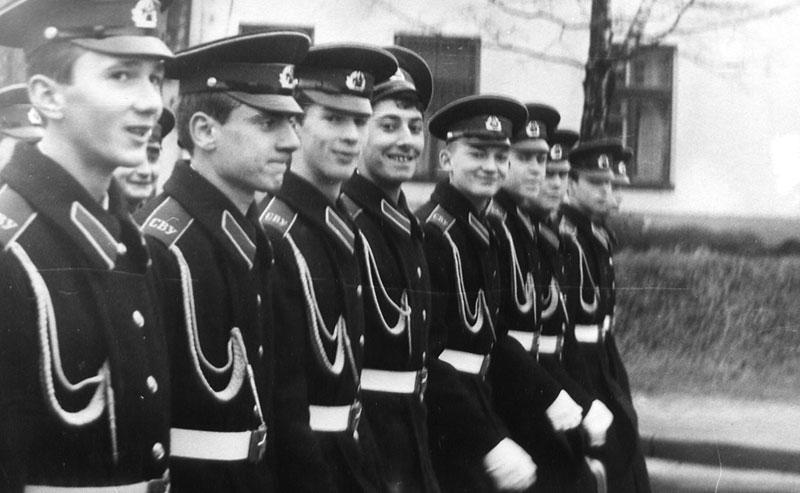 Минские суворовцы на параде